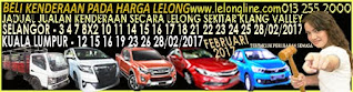 1-28/02/2017 JADUAL JUALAN KENDERAAN LELONG SELURUH MALAYSIA,SEKITAR KLANG VALLEY-SELANGOR/K LUMPUR