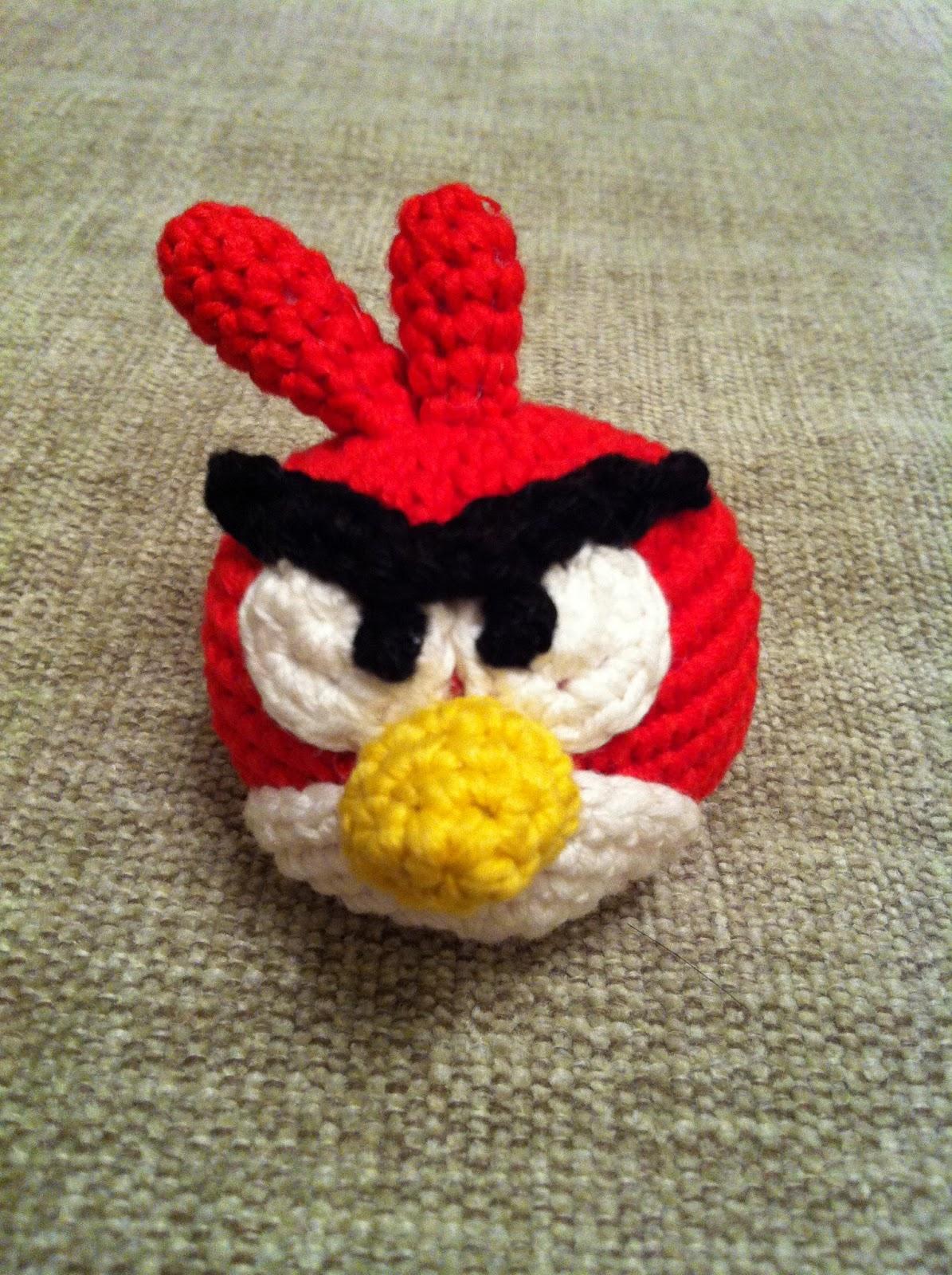 Patron Angry Birds Amigurumi : EL DESVaN DE LOS AMIGURUMIS: Patron llavero amigurumi ...
