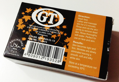 GT COSMETICS CARROT LOTION AND CARROT SOAP REVIEW
