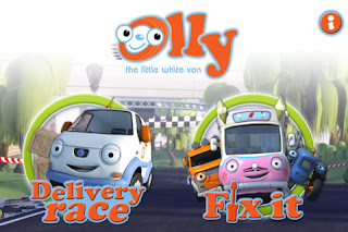 Olly the Little White Van iPhone iPad app screenshot image picture