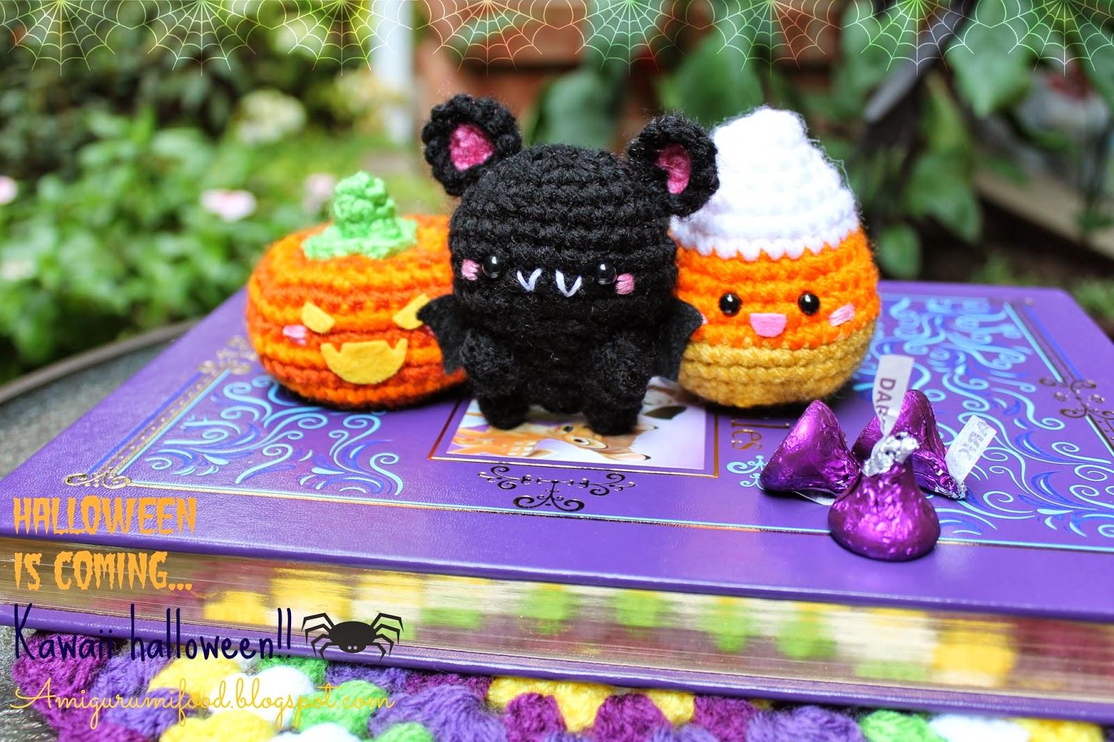 Amigurumi Food : Amigurumi Food: Halloween is coming! Kawaii Halloween!