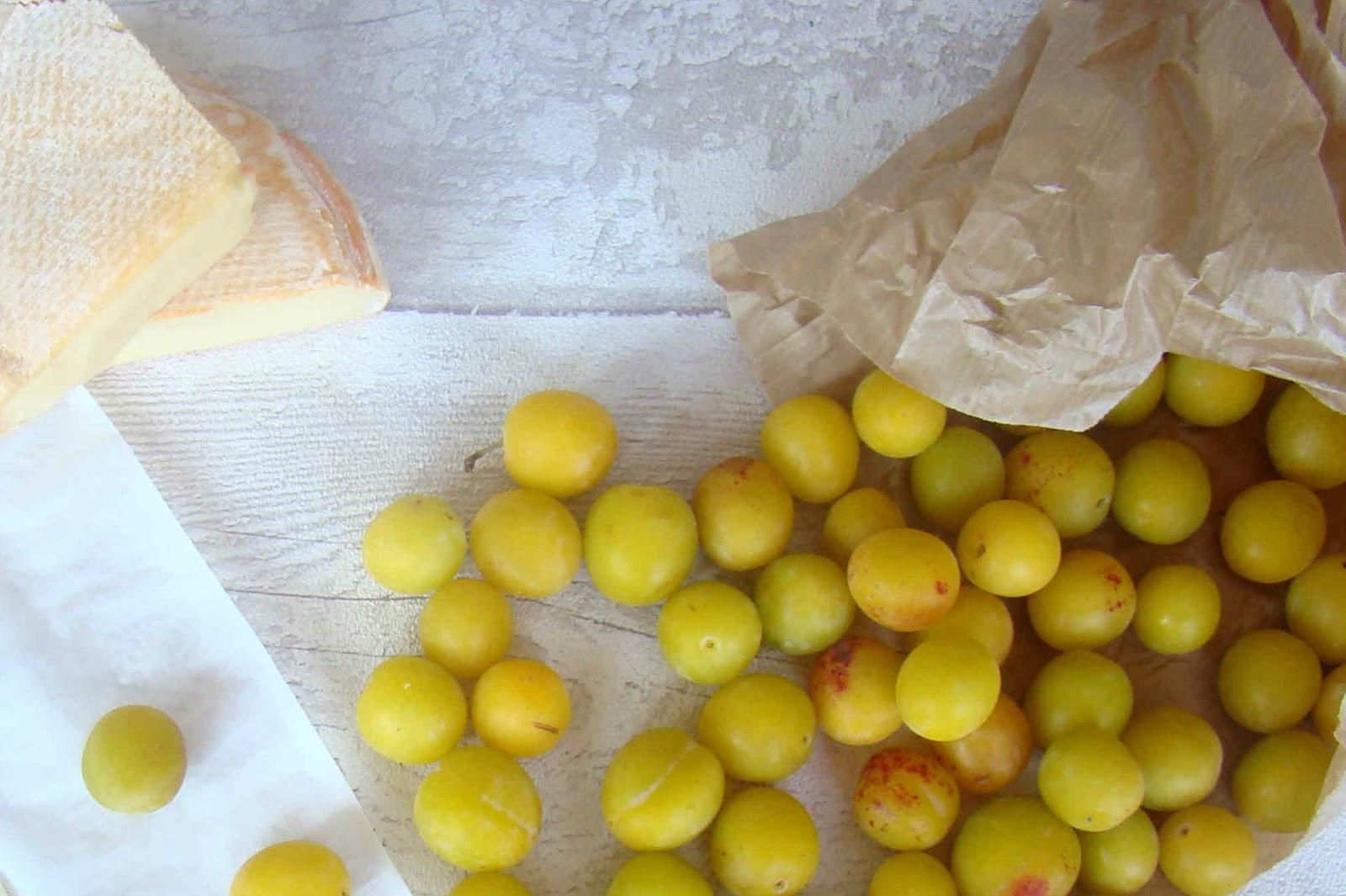 L'association culinaire qui déchire: Mirabelle - Reblochon