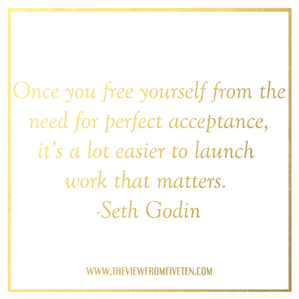 Launch work that matters Seth Godin