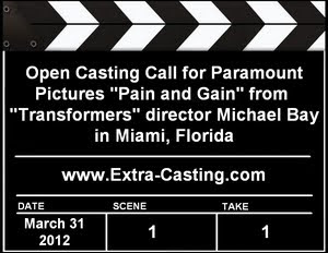 Extras Open Casting Call Pain and Gain