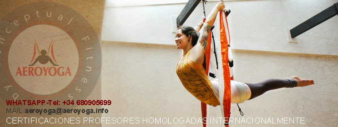 acro aerial yoga pose ArianaAsana©