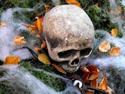 Halloween skulls zombies ghouls