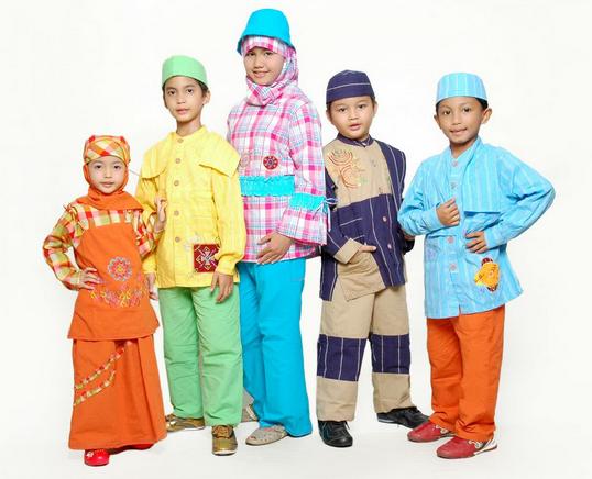 10 Contoh Baju Muslim Anak Keren Model Terbaru 2015