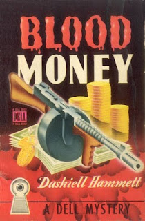 Wat de veklaring is van bandnaam Zeni Geva - Blood Money - Hammett - Book cover