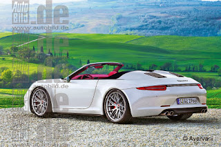 2014 Porsche 911 Speedster render from Bild Auto