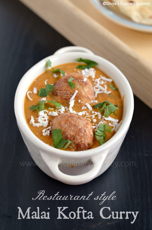 Malai Kofta gravy made in Restaurant style