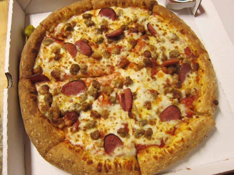 Review: Papa John's - Five Sausage Pizza | Brand Eating