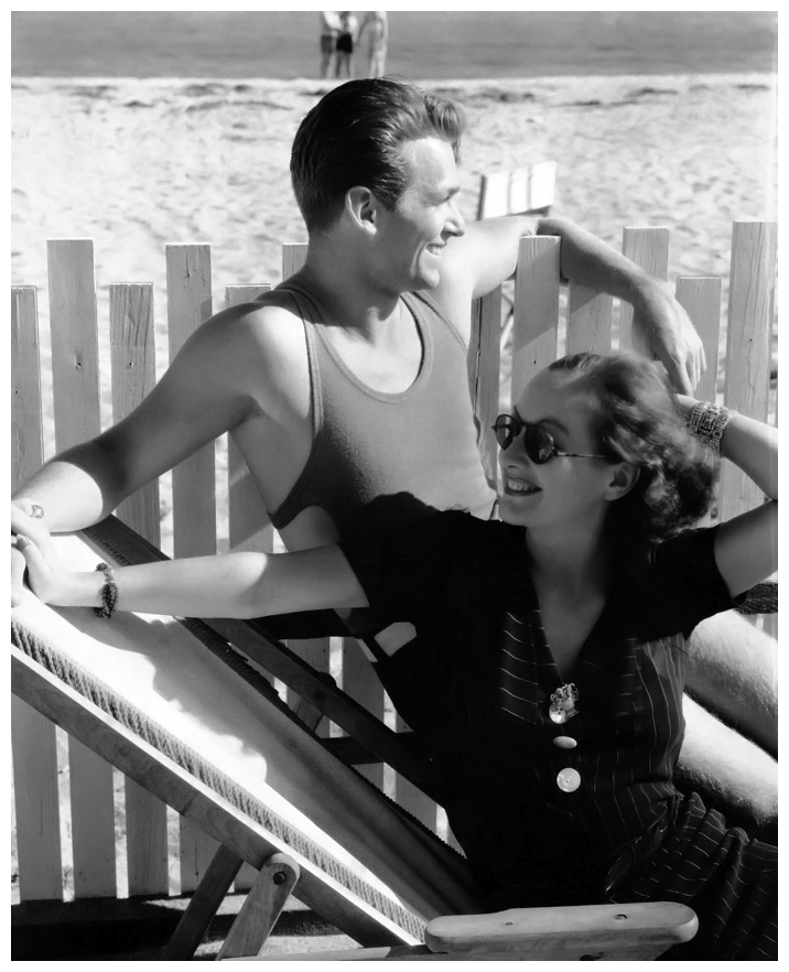 Douglas Fairbanks, Jr & .Joan Crawford, Edward Steichen. Fotografía | Photography