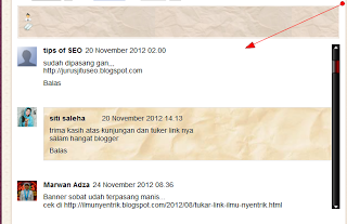 Cara Membuat Scroll Pada Kotak Komentar Blog