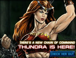 Thundra now available at Marvel Avengers Alliance