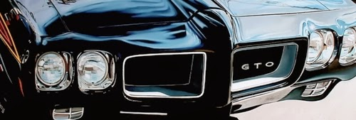 11-GTO-Cheryl-Kelley-Chrome-Muscle-Cars-Hyper-realistic-Paintings-www-designstack-co