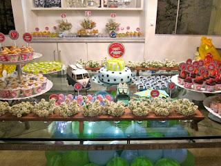 7 Cupcakes para o chá de bebê de Pedro!!