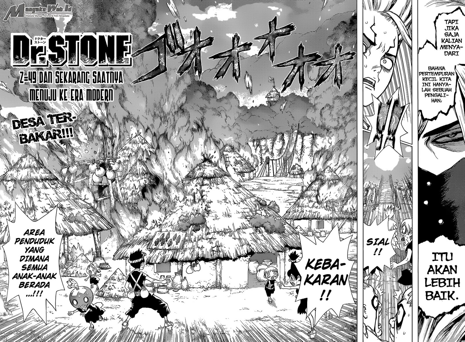 Dr. Stone Chapter 49-2