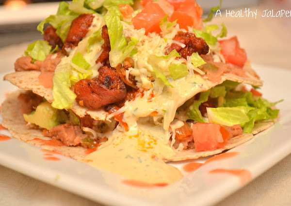 Beer Braised Chorizo Tostada's (Guest Post)