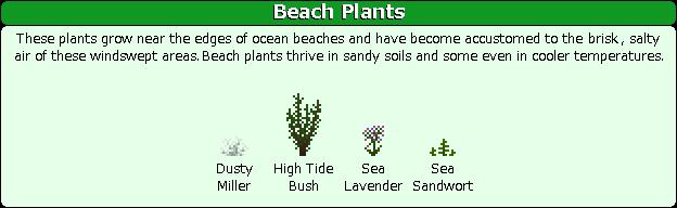 Plant Mega Pack Mod beach
