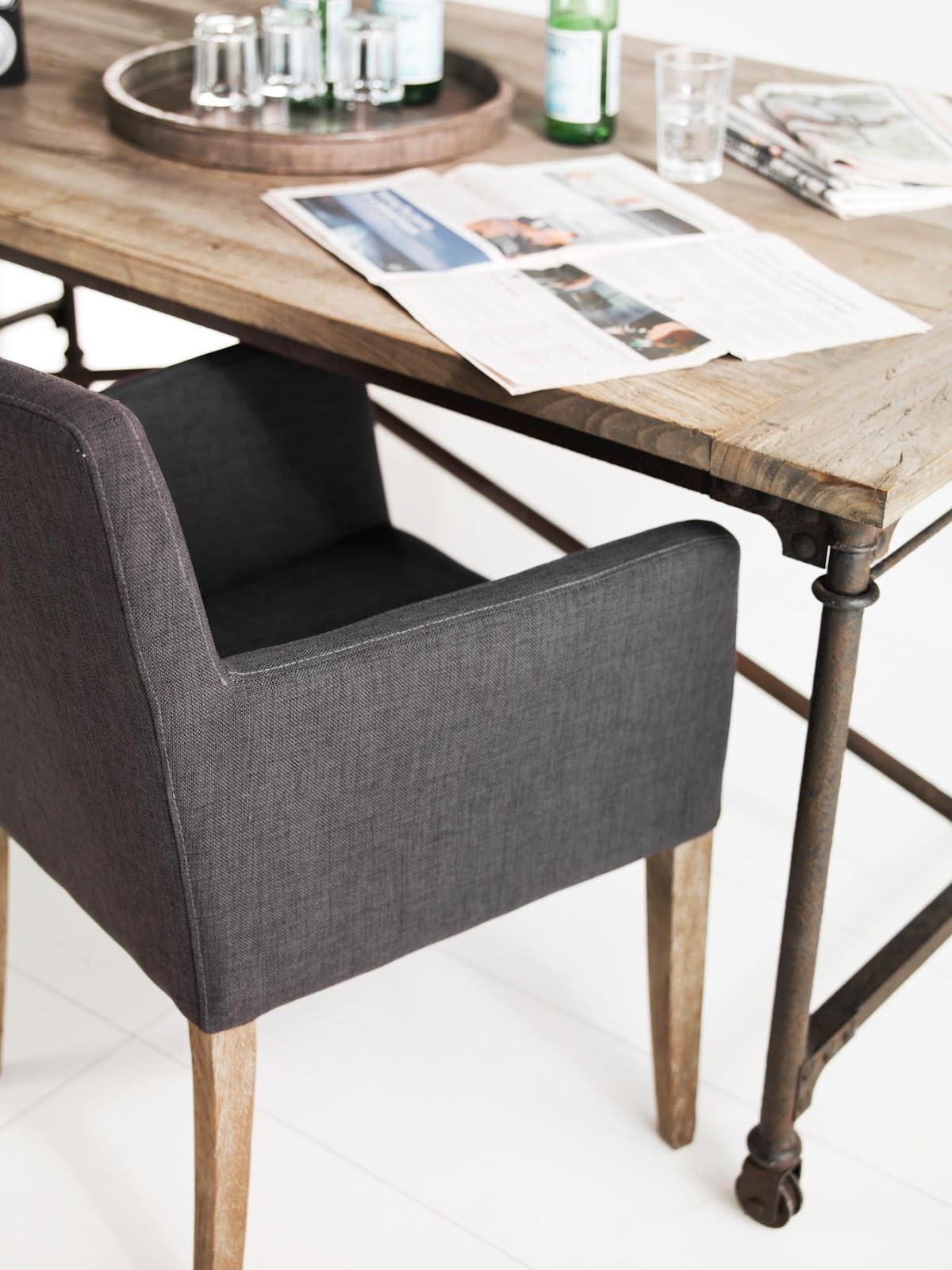 ... on Pinterest Dining chairs, Leather dining chairs and Dining tables