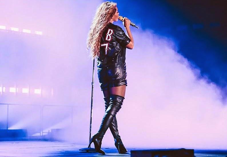 """Beyoncé ensaiando """"Crazy in Love"""""""