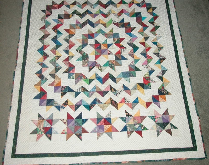 Madan S Quilting Scrappy Carpenter S Star Pattern