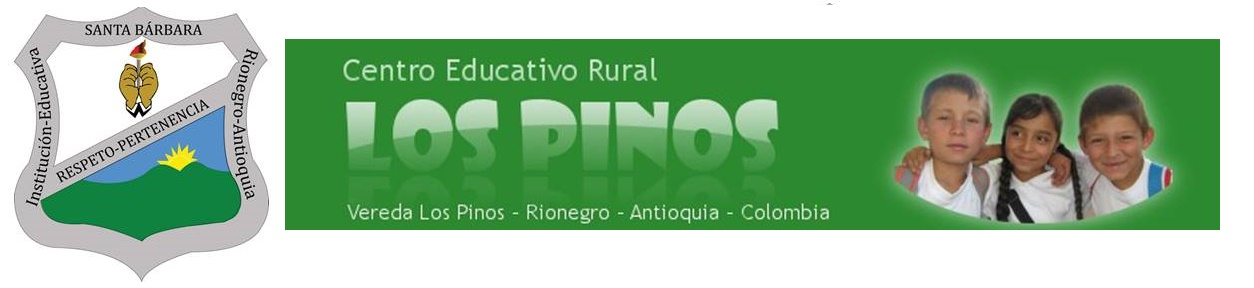 "CENTRO EDUCATIVO RURAL  ""LOS PINOS"""
