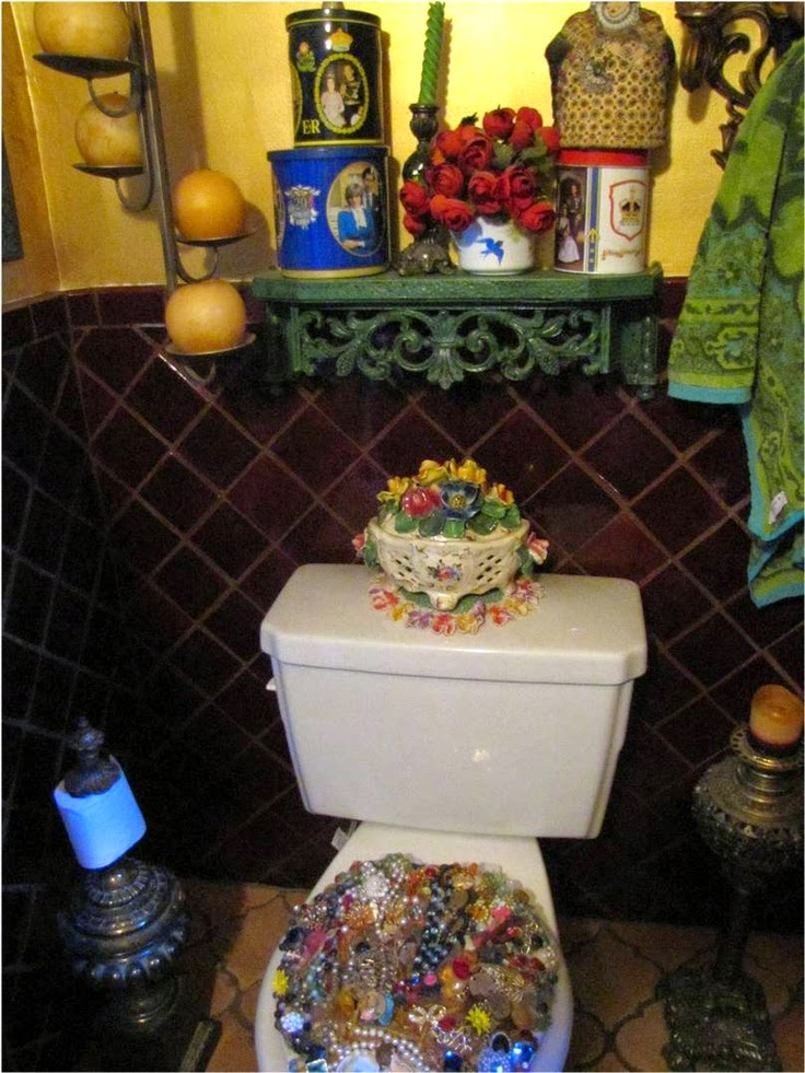 Bohemian Bathrooms. Babylon Sisters  Bohemian Bathrooms