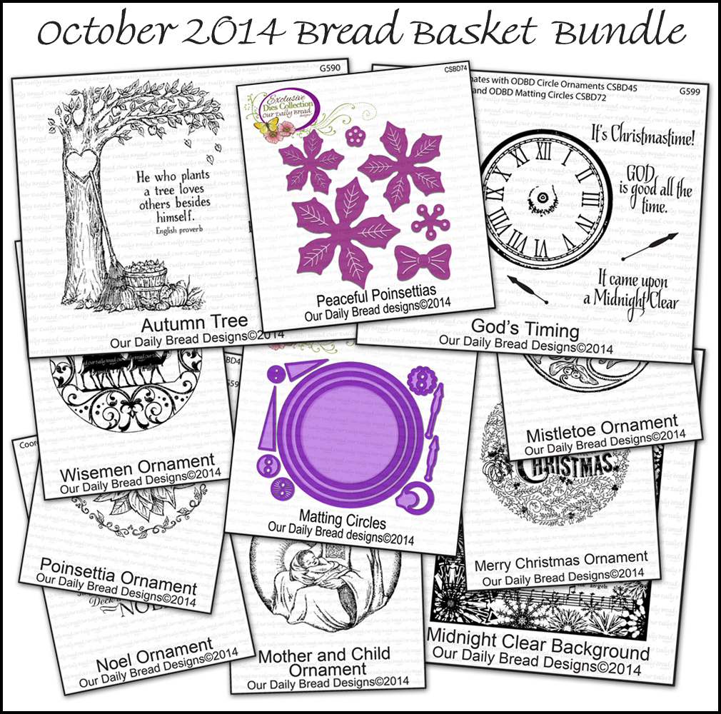 Stamps - Our Daily Bread Designs October 2014 Bread Basket Bundle
