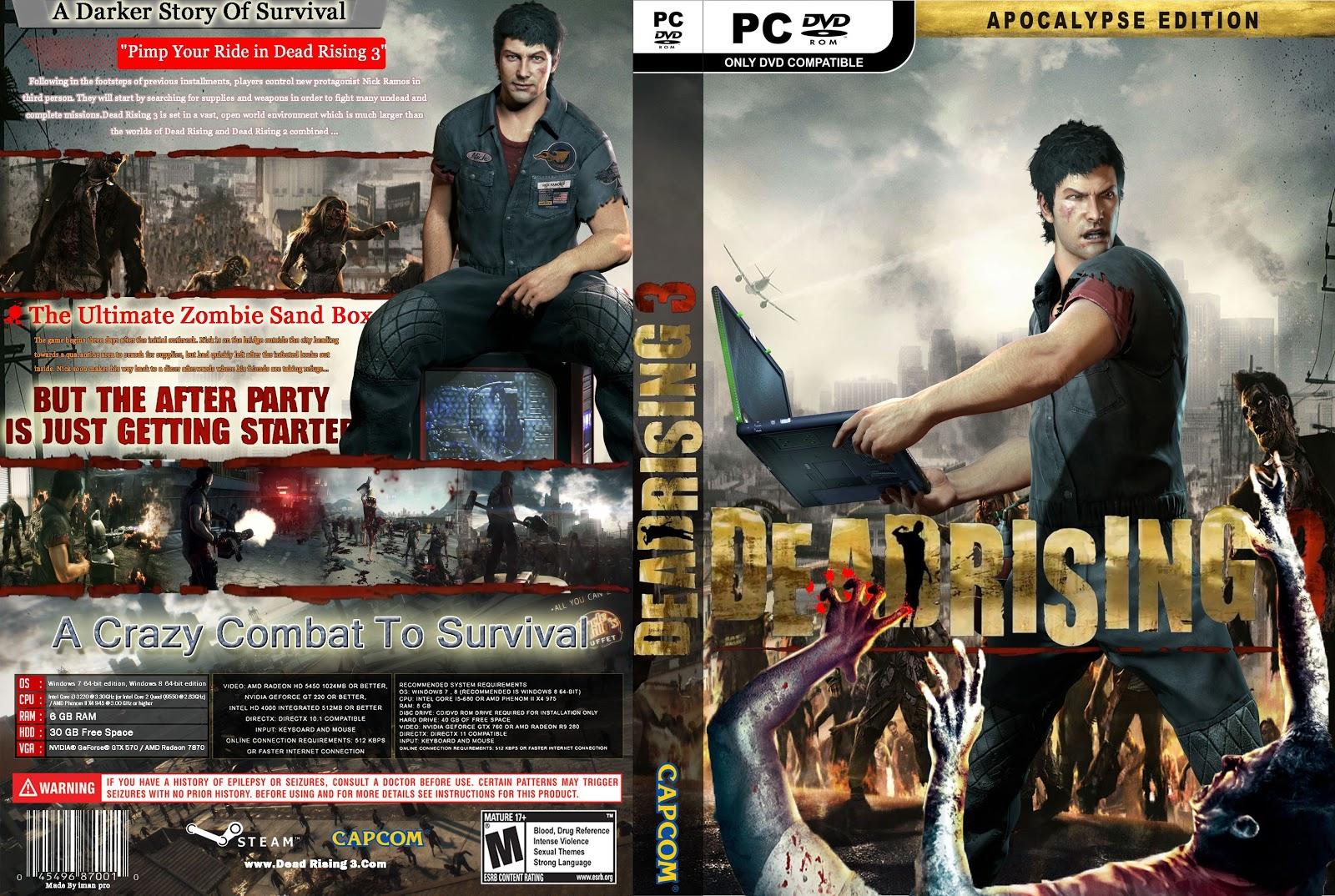 Capa Dead Rising 3 Apolypse Edition PC