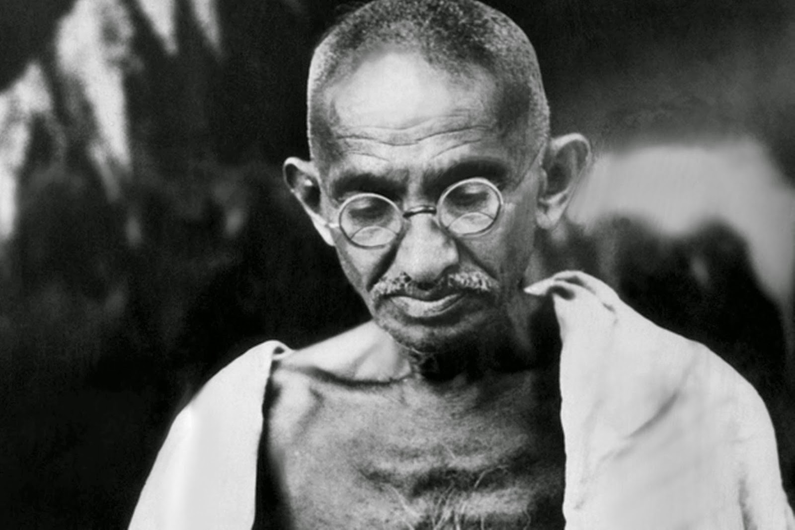 About Mahatma Gandhi Speech in Hindi