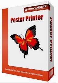 برنامج Poster Printer لطباعة الصور الكبيرة و اللافتات على ورق A4