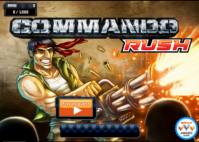 Commando Rush Games 2