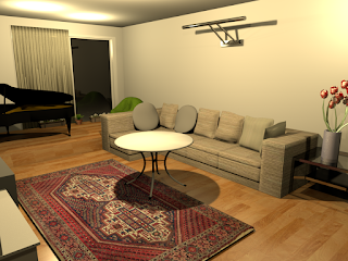 Realistic Living Room 1