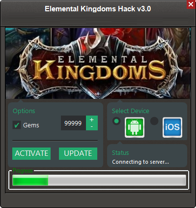 Elemental Kingdoms Hack Tool ( Unlimited Gems ) New Update