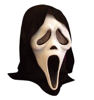 scream mask 7 TOPENG PALING MENYERAMKAN DI DUNIA