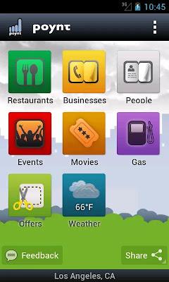 Poynt android app screenshot