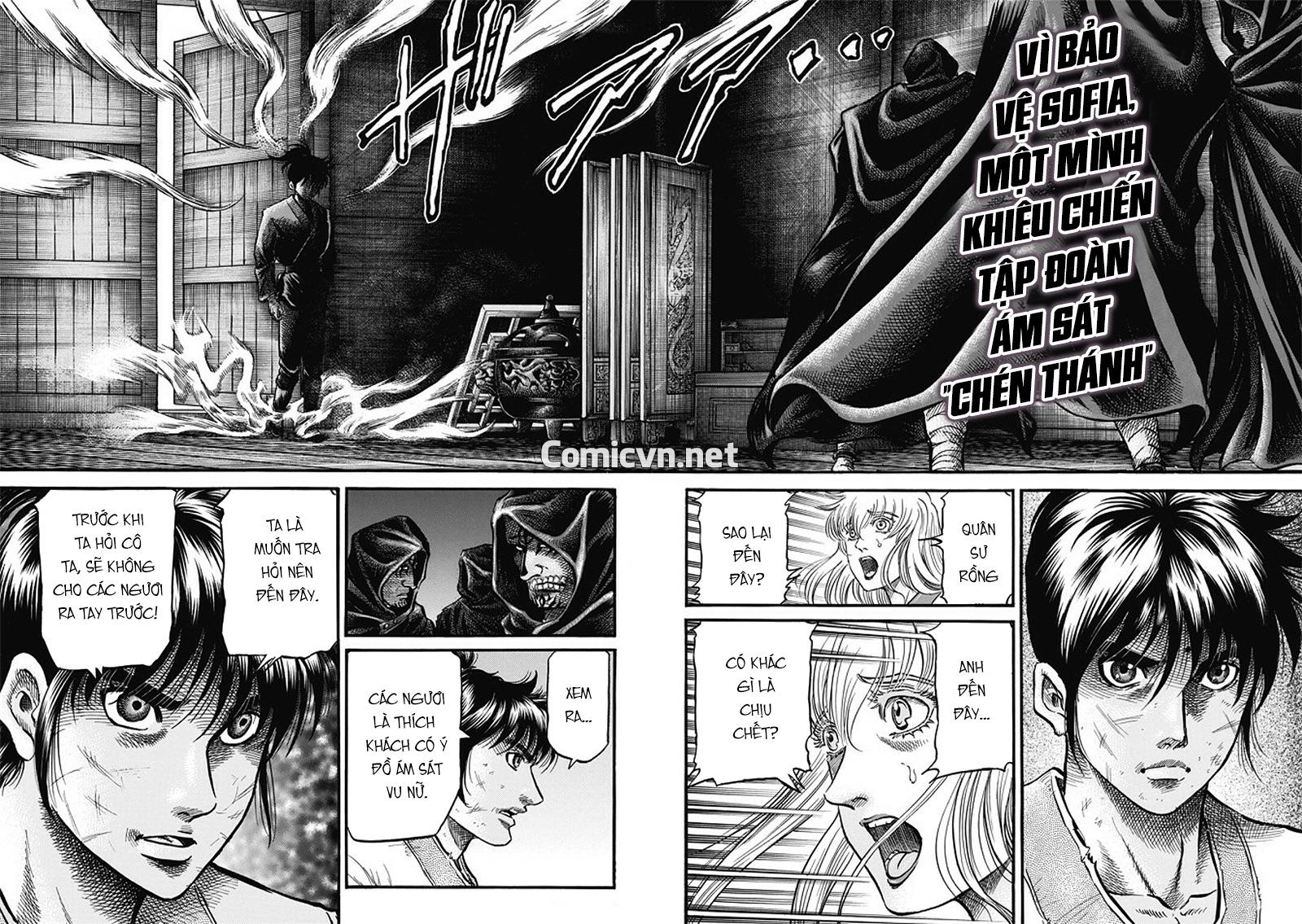Chú bé rồng-Ryuuroden chap 282 Trang 3 - Mangak.info