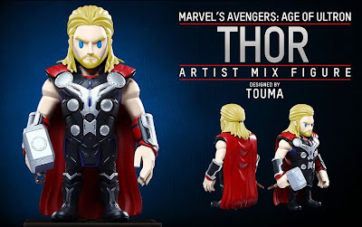 Marvel's Avengers Age of Ultron Artist Mix Figures Series 2 by Touma & Hot Toys - Thor