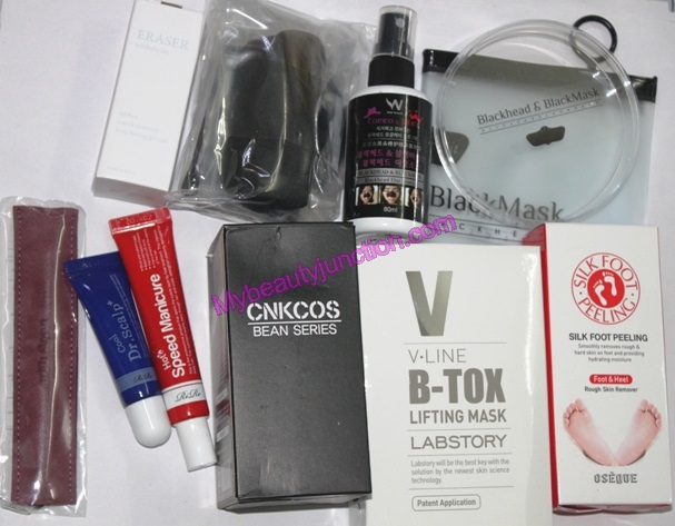 Memebox At Home beauty box review, unboxing, photos
