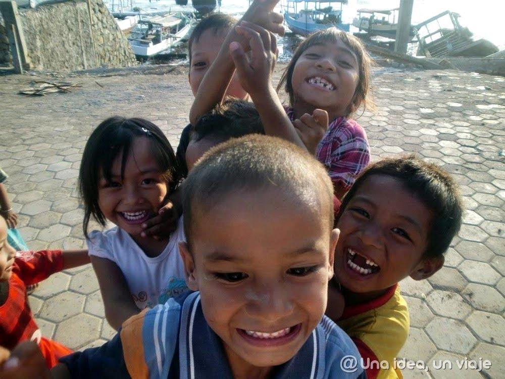 niños de Asia