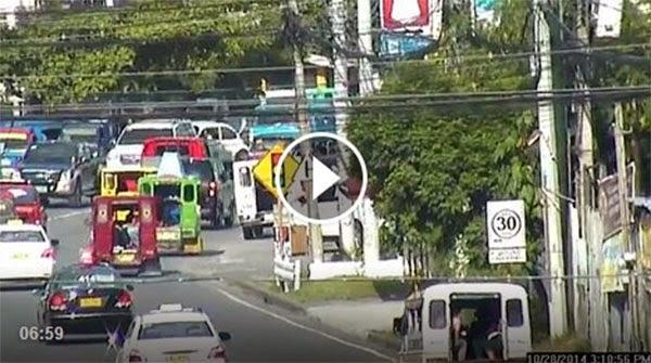 Fleeing Hit and Run Suspect Intercepted Davao
