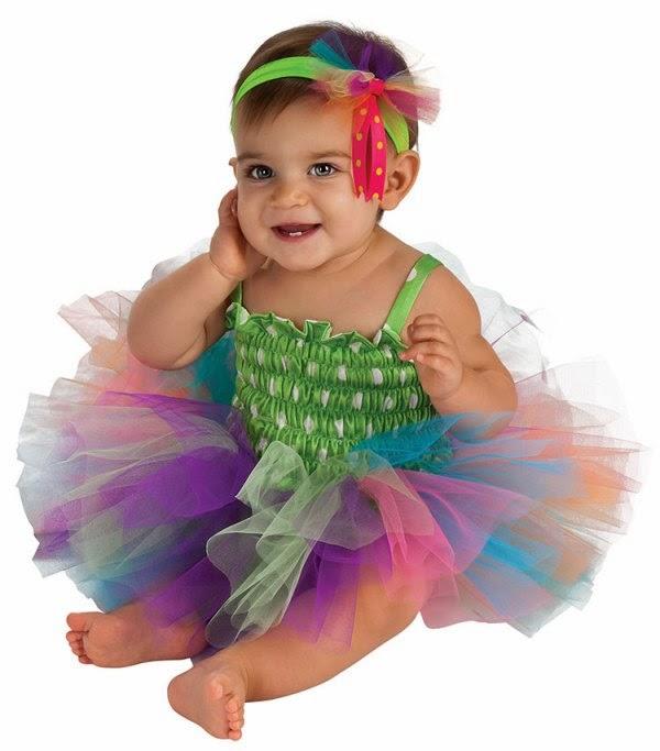 Foto bayi lucu banget pakai kostum tutu dress