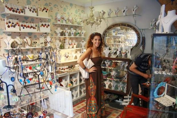 tienda artesanal Estambul