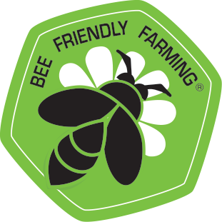 "We are part of ""Bee Friendly Farming"""