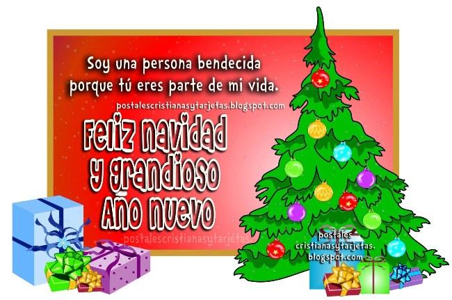 Imágenes de Feliz Navidad y Grandioso Año Nuevo. Imágenes cristianas de navidad. Postales navideñas cristianas para compartir con amigos, facebook, soy bendecida Gracias por ser mi amiga, amigo.  Felicidades en Navidad. Saludo cristiano. Feliz Navidad 2013. Feliz año 2014.