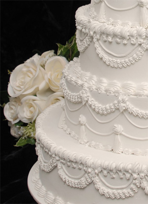 simple wedding cake - wedding cake