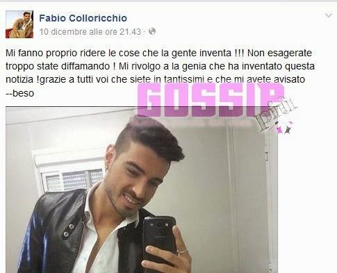 Fabio Colloricchio uomini e donne