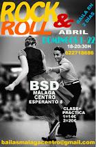 ROCK & ROLL LOS DOMINGOS 1 Y 22  INTENSIVO EN ABRIL EN BSD BAILAS MÁLAGA CENTRO.