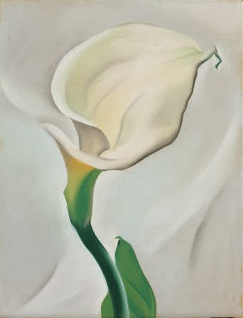 a look at georgia o keeffe s painting Of georgia o'keeffe selected o'keeffe's preoccupation with what the flower is to me but i'll paint it big and they will be surprised into taking time to look.